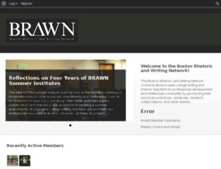 bostonrhetoricandwritingnetwork.com screenshot