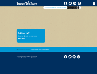 bostonteaparty.co.uk screenshot