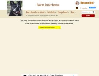 bostonterrier.rescueme.org screenshot