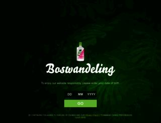 boswandeling.nl screenshot