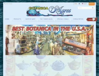 botanica7mares.com screenshot