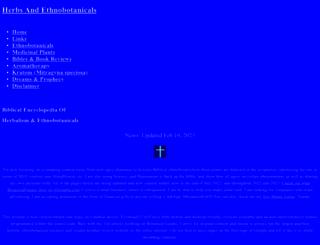 botanicalguides.com screenshot