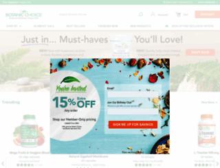 botanicchoice.com screenshot