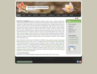 botanickafotogalerie.cz screenshot