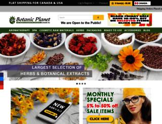 botanicplanet.ca screenshot