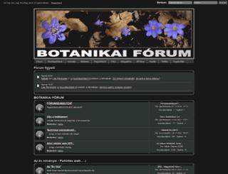 botanikaiforum.com screenshot