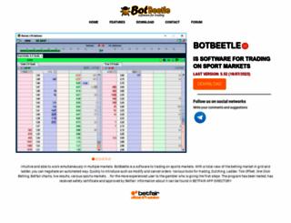 botbeetle.com screenshot