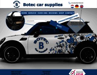 botecautosport.nl screenshot