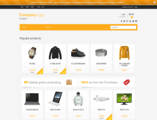 boteintheme.webshopapp.com screenshot