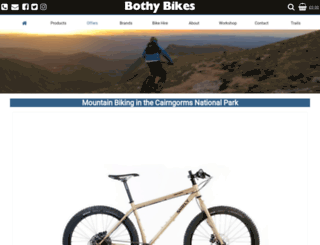 bothybikes.co.uk screenshot