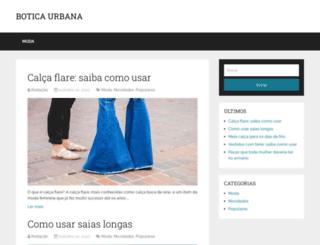boticaurbana.com.br screenshot