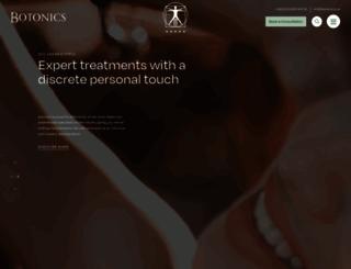 botonics.co.uk screenshot