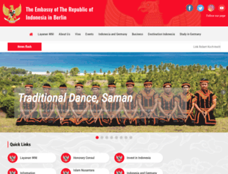 botschaft-indonesien.de screenshot
