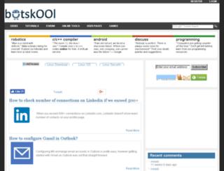 botskool.co.in screenshot
