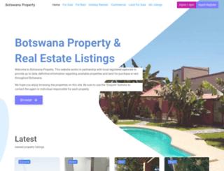 botswanaproperty.org screenshot