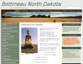 bottineau.govoffice.com screenshot