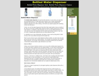 bottledwaterdispenser.net screenshot