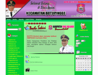botupinggekec.bonebolangokab.go.id screenshot