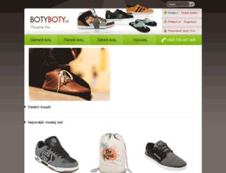 boty-boty.cz screenshot