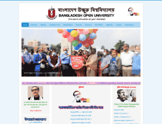 bou.edu.bd screenshot