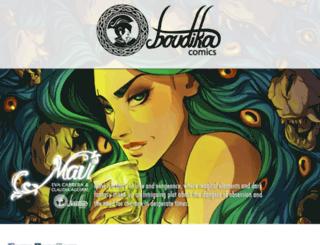 boudikacomics.net screenshot