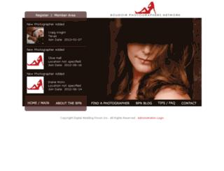 boudoirphotographers.net screenshot