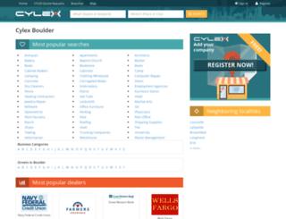 boulder.cylex-usa.com screenshot