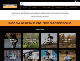bouldercyclesport.com screenshot