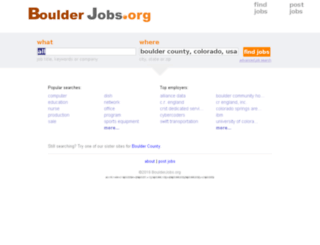 boulderjobs.org screenshot