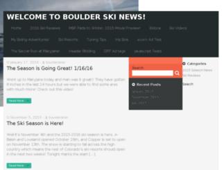boulderskinews.com screenshot