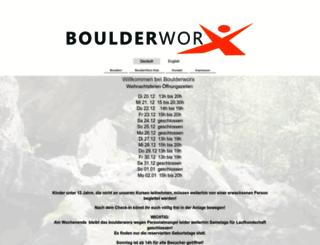 boulderworx.de screenshot