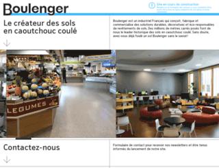 boulenger.fr screenshot