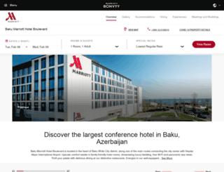 boulevardhotelbaku.com screenshot