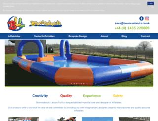 bounceabouts.com screenshot