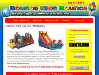 bouncekidsbounce.com screenshot