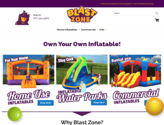 bouncersdirect.com screenshot
