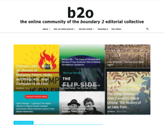 boundary2.org screenshot