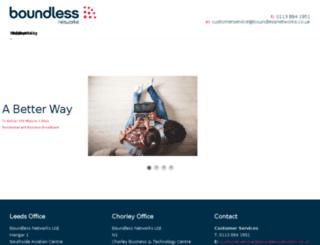 boundlesscomms.com screenshot
