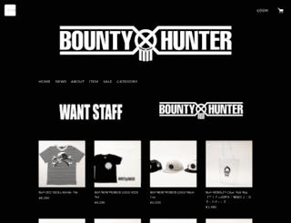 bountyhunter.stores.jp screenshot