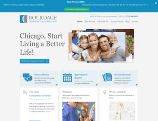 bourdagechiropractic.com screenshot