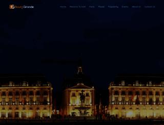 bourg-gironde.net screenshot