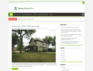 bourg-immobilier.com screenshot