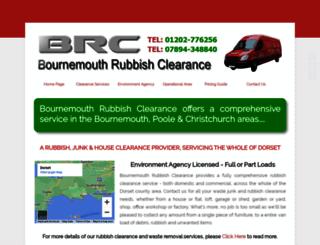 bournemouthrubbishclearance.com screenshot
