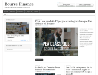 bourse-finance.fr screenshot