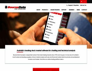 boursedata.com.au screenshot