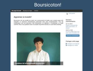 boursicoton.fr screenshot