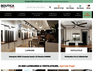 boutica-design.fr screenshot