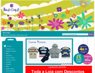 bouticlique.com.br screenshot
