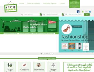 bouticrepublic.com screenshot