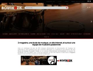 boutikazik.com screenshot